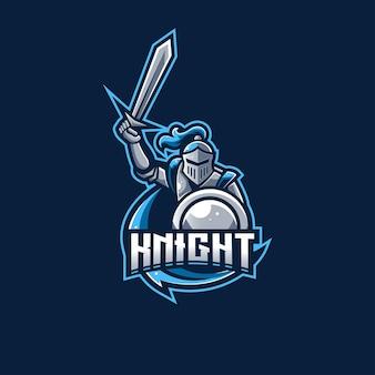 Logo de chevalier spartiate