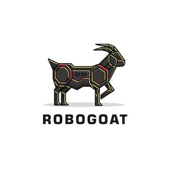 Logo de chèvre robot