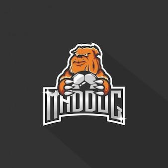 Logo chien e-sport