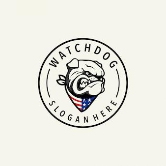 Logo de chien de garde