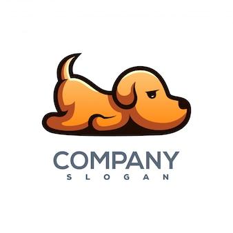 Logo de chien prêt à utiliser