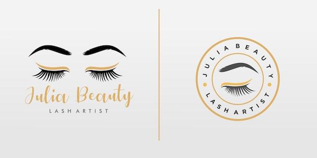 Logo de cils de luxe