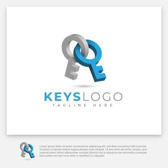 Logo des clés
