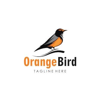 Logo de colibri vecteur premium