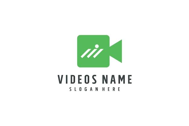 Logo de concept d'entreprise vidéo
