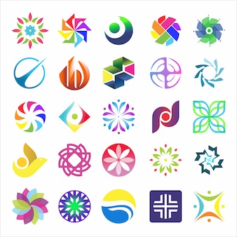 Logo concept set