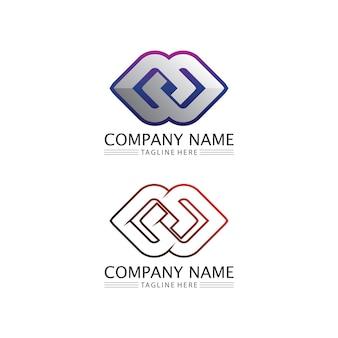 Logo de conception d'infini et icône 8, vecteur, signe, logo créatif pour le symbole d'infini d'entreprise et d'entreprise