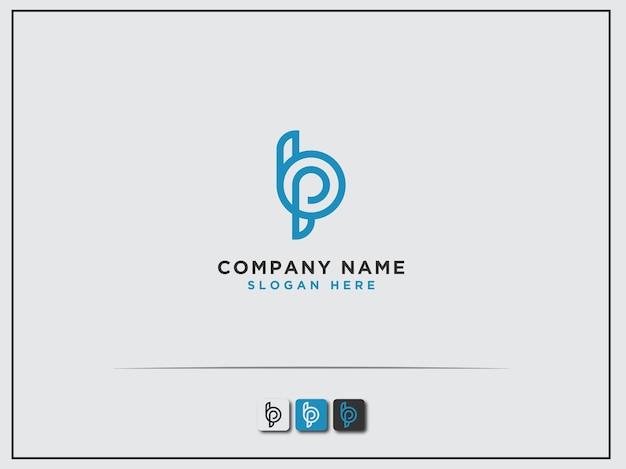Logo conception initiale de la lettre bp