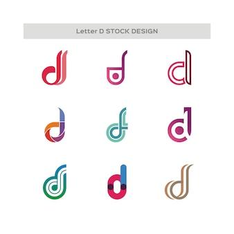 Logo de la conception de la lettre e