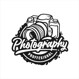 Logo de conception professionnelle de photographie