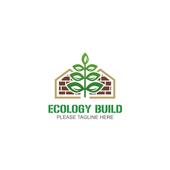 Logo de construction d'écologie