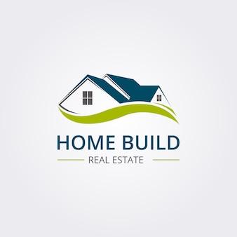 Logo de construction de maison professionnelle