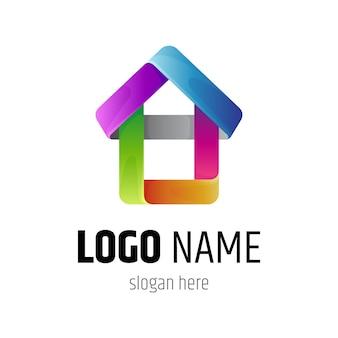 Logo de construction de maison