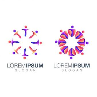 Logo couleur dégradé