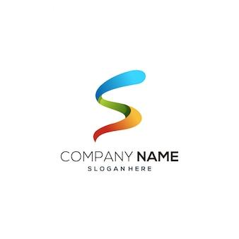 Logo de couleur latter s