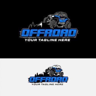 Logo de course tout-terrain extrême