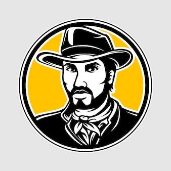 Logo de cow-boy