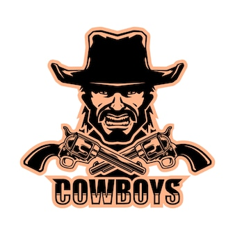 Logo de cow-boy