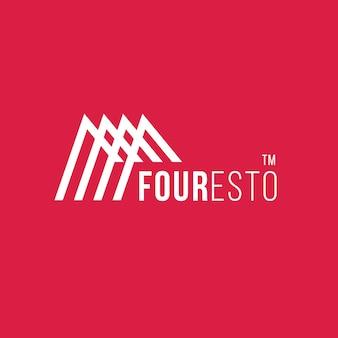 Logo créatif abstrait