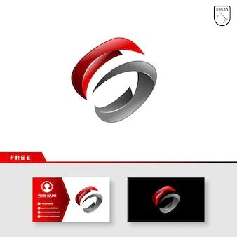Logo créatif de la lettre s
