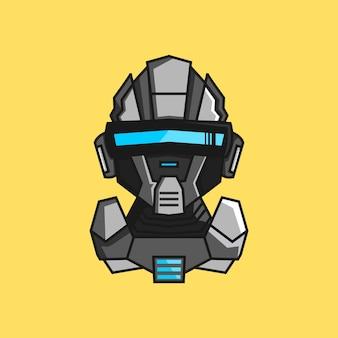Logo de cyclops robot