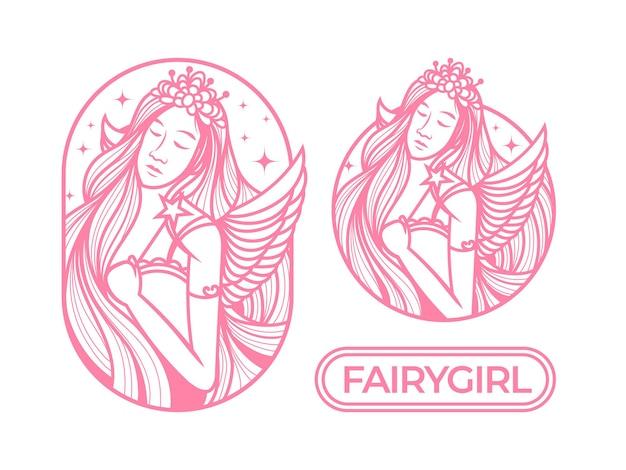 Logo de dame de fée