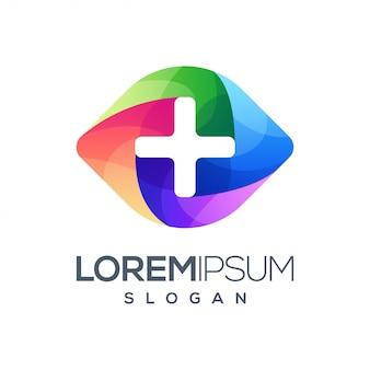 Logo dégradé coloré dégradé