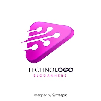 Logo dégradé