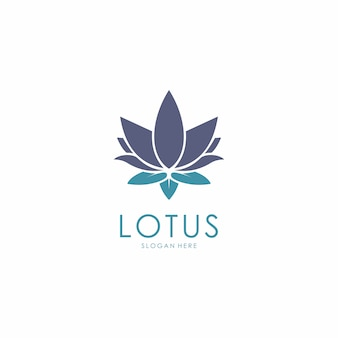 Logo design fleur de lotus