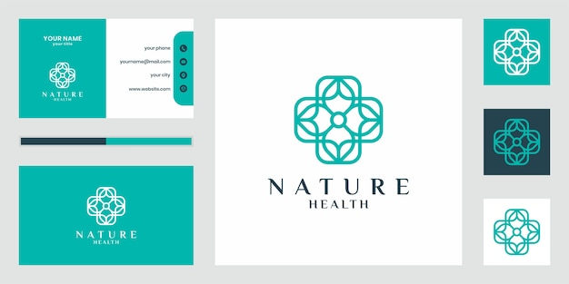 Logo design nature luxueux qui inspire