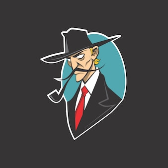 Logo détective