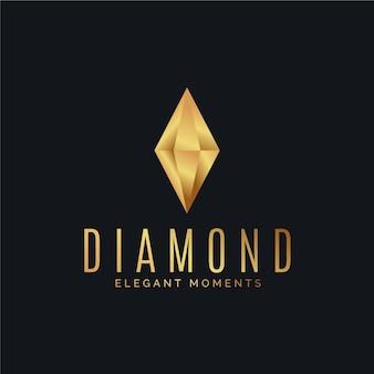Logo diamant élégant