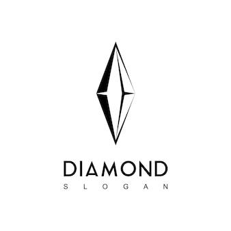 Logo De Diamant Vectoriel Vecteur Premium