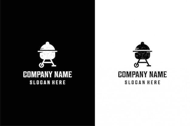 Logo diamond barbecue
