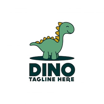 Logo de dinosaure