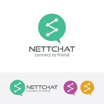 Logo de discussion en réseau