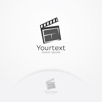 Logo de divertissement cinématographique