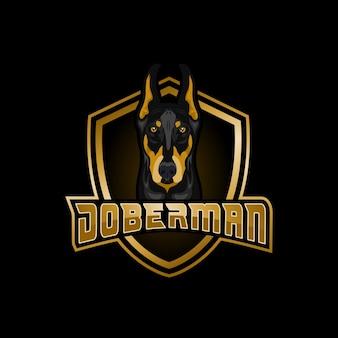 Logo doberman esports