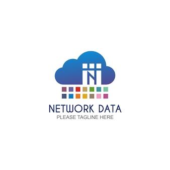 Logo de données de réseau
