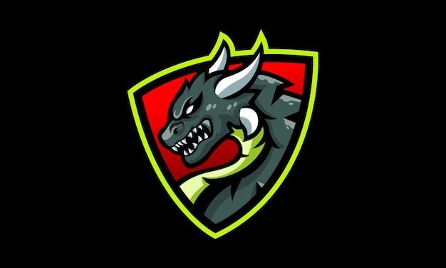 Logo dragon shield esports
