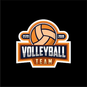 Logo du ballon de volley