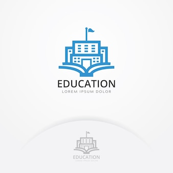 Logo du bâtiment de l'éducation