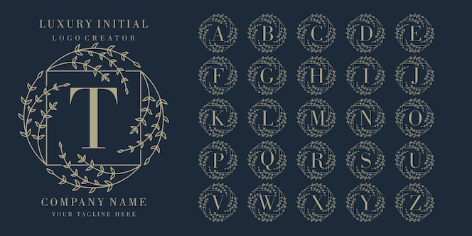 Logo du cadre floral initial