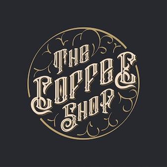 Le logo du café
