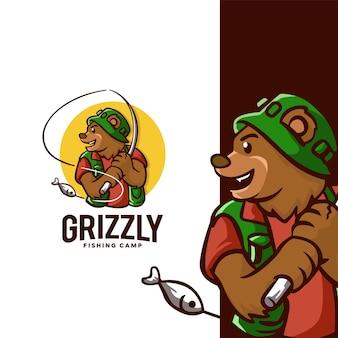 Logo du camp de pêche grizzly