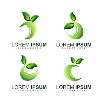 Logo du cercle de feuilles