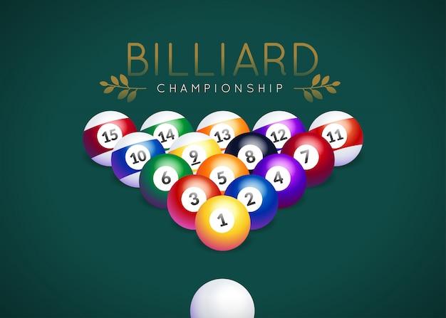 Logo du championnat de billard
