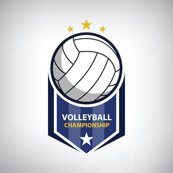 Logo du championnat de volleyball