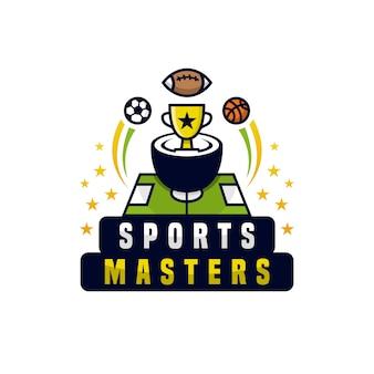 Logo du championnat des maîtres sportifs