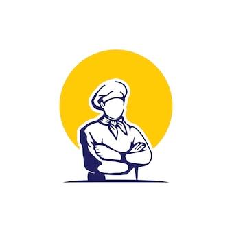 Logo du chef cuisinier